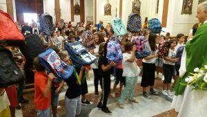 Avviso parrocchiale: Messa delle 10 e benedizione degli zaini