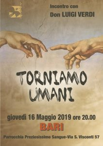 TORNIAMO UMANI