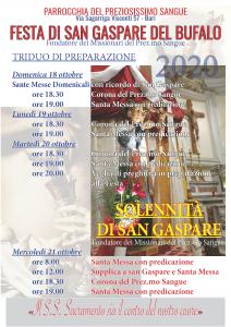 FESTA DI  S. GASPARE